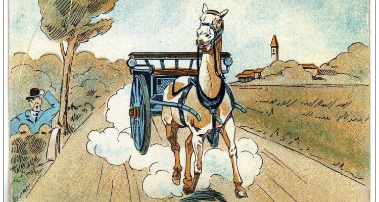 Il calesse, il pedone e i diritti del cavallo